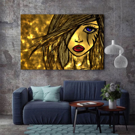 Tablou Canvas - Golden art2