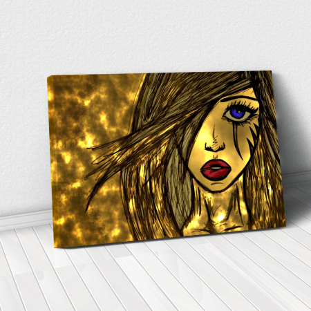 Tablou Canvas - Golden art0
