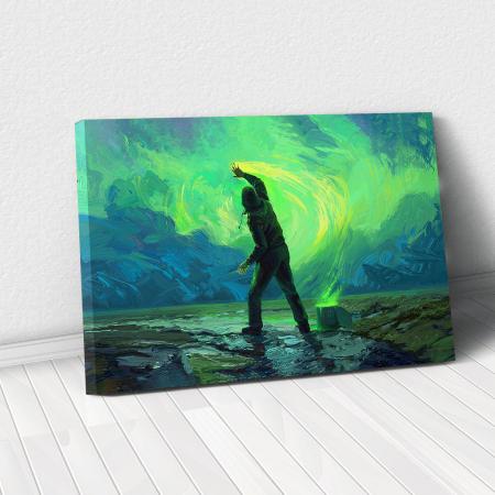 Tablou Canvas - Aurora0