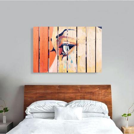 Tablou Canvas - Fence art [3]