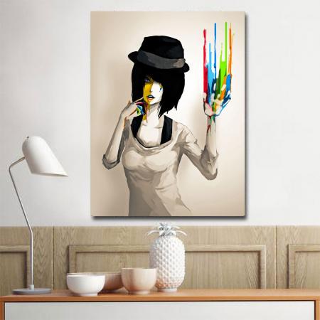 Tablou Canvas - Color print1