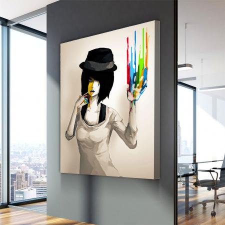 Tablou Canvas - Color print2