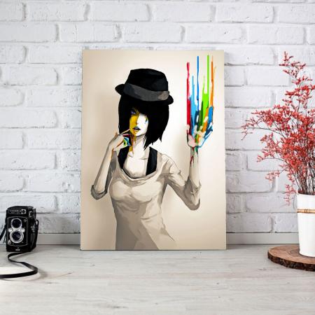 Tablou Canvas - Color print3