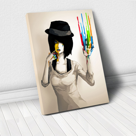 Tablou Canvas - Color print0