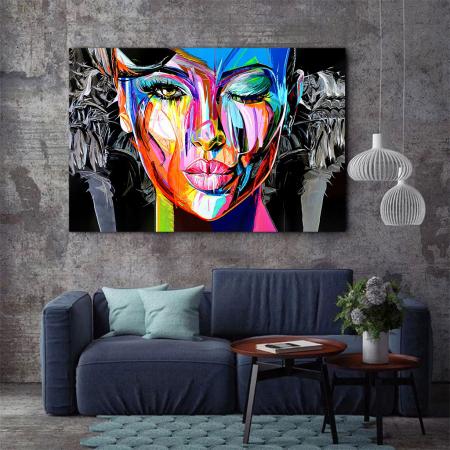 Tablou Canvas - Portret creativ2