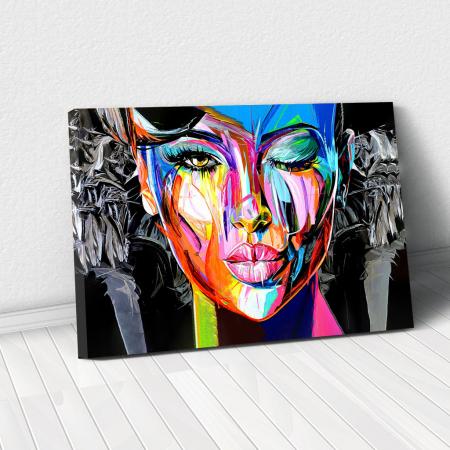 Tablou Canvas - Portret creativ0