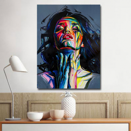Tablou Canvas - Painted girl art3