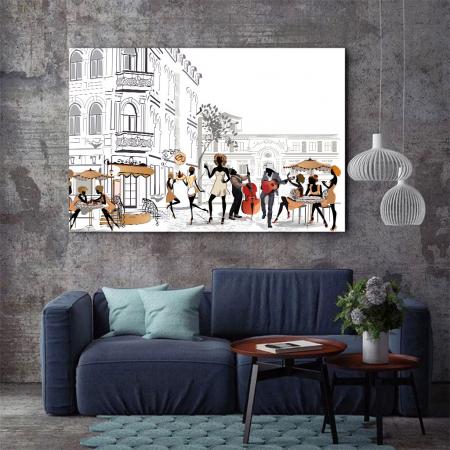 Tablou Canvas - Lifestyle in Paris1