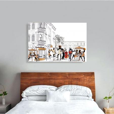 Tablou Canvas - Lifestyle in Paris3