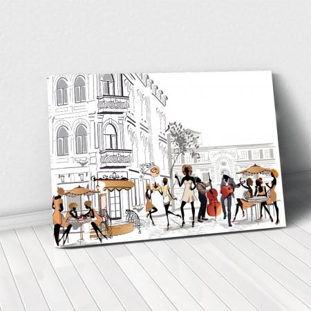 Tablou Canvas - Lifestyle in Paris0