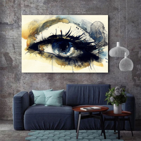 Tablou Canvas - Eye art2