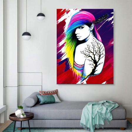 Tablou Canvas - Tattoo creativ3