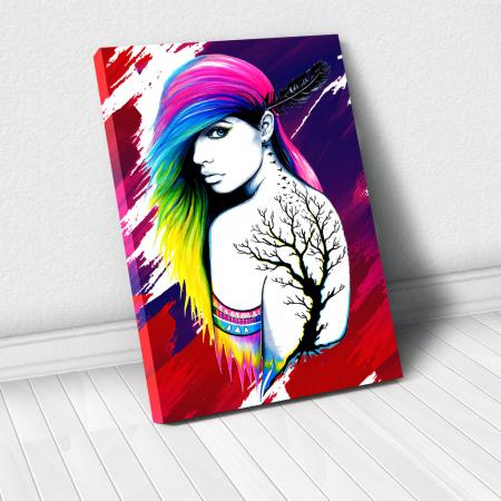 Tablou Canvas - Tattoo creativ0