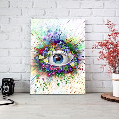 Tablou Canvas - Ochi digital1