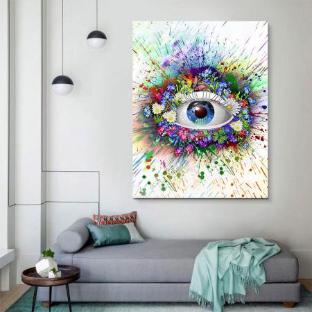 Tablou Canvas - Ochi digital3