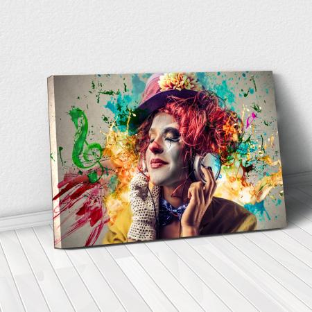 Tablou Canvas - Music Vibes0