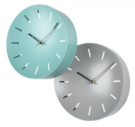 Ceas de perete, analog, rotund, din plastic - 25cm [2]