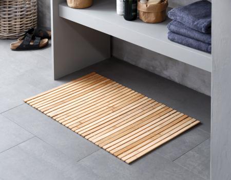Covor de baie din bambus 50x80cm1
