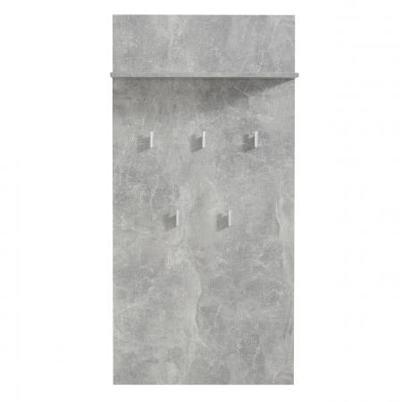 Cuier hol Calliope cu 5 agățători 137cm0