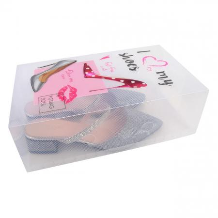 Cutie pentru depozitare pantofi pentru femei cu mâner-18x10x30.5 cm [1]