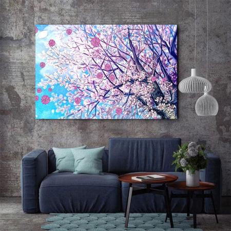 Tablou Canvas - Spring tree [3]