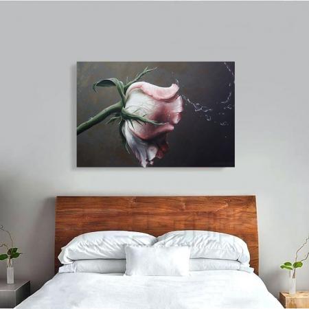 Tablou Canvas - Trandafir Macro1