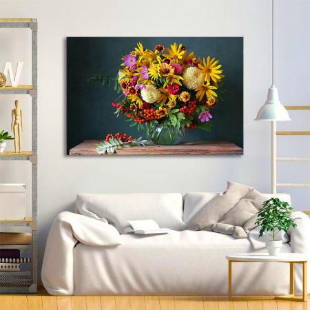 Tablou Canvas - Paleta de flori [1]
