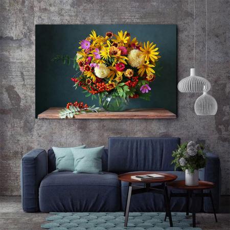 Tablou Canvas - Paleta de flori [2]