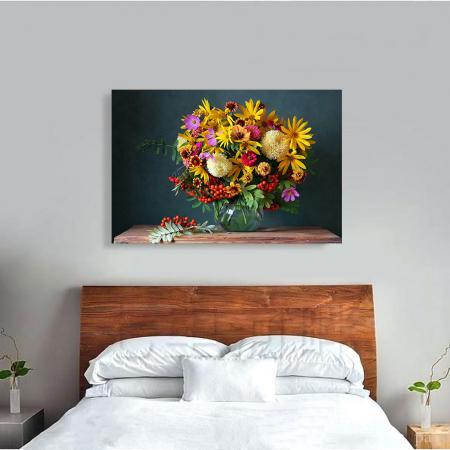 Tablou Canvas - Paleta de flori [3]