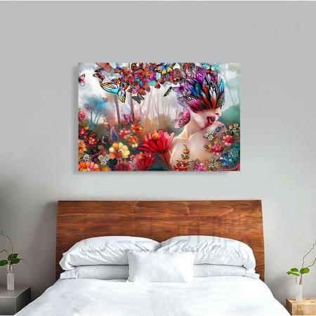 Tablou Canvas - Creativitate florala [3]