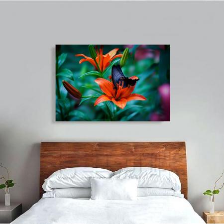 Tablou Canvas - Orange lilies3