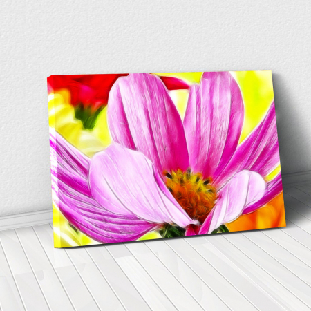 Tablou Canvas - Floare macro0