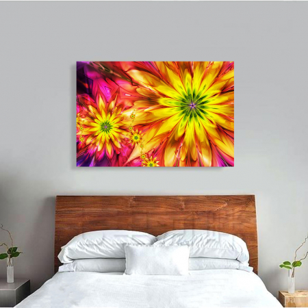 Tablou Canvas - Floral design3
