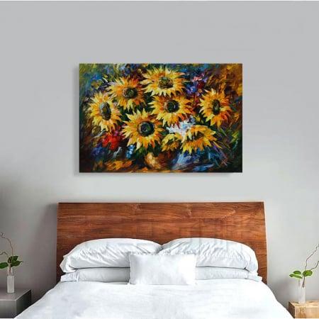 Tablou Canvas - Yelow flowers [3]