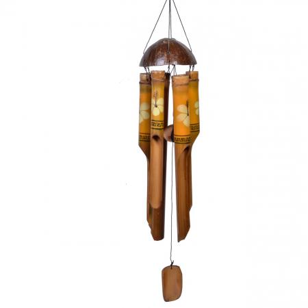 Fluier de vânt din bambus 45 cm