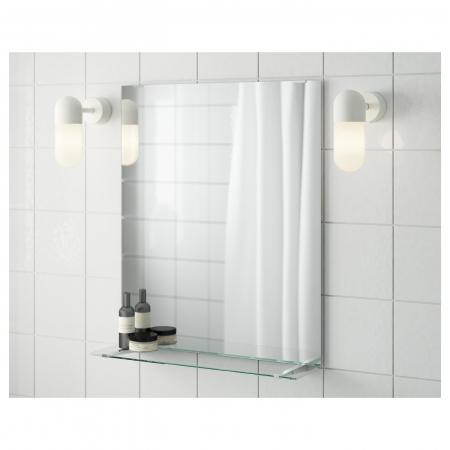 Oglindă cu poliţă 50x60 cm [0]