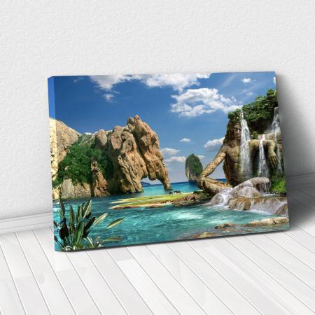 Tablou Canvas - Paradise Island0