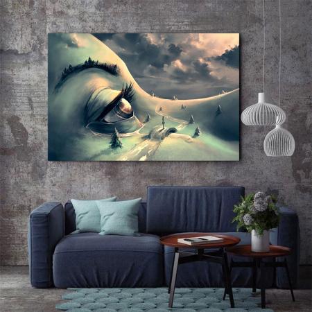 Tablou Canvas - World's face2