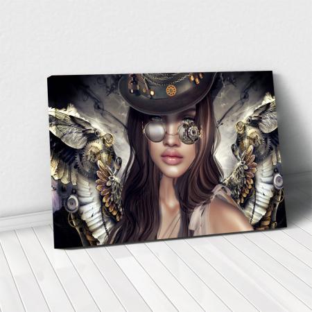 Tablou Canvas - Mechanical angel0