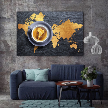 Tablou Canvas - A world of coffee1