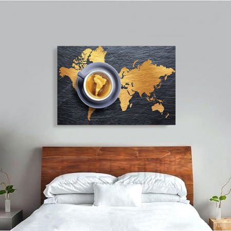 Tablou Canvas - A world of coffee2