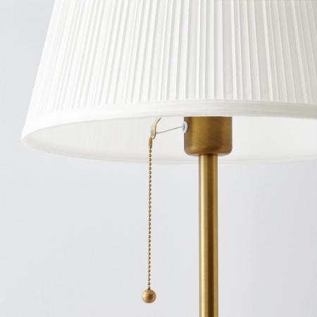 Lampadar Sofia oțel, alb - 155cm [2]