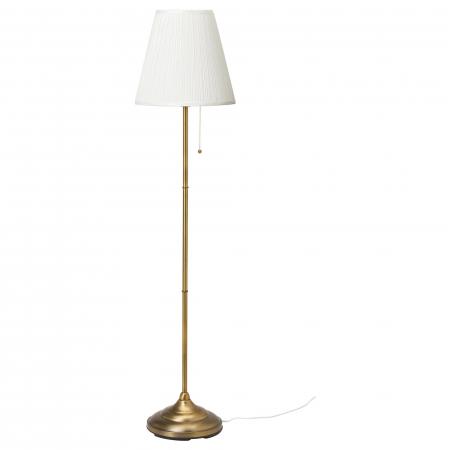 Lampadar Sofia oțel, alb - 155cm [0]