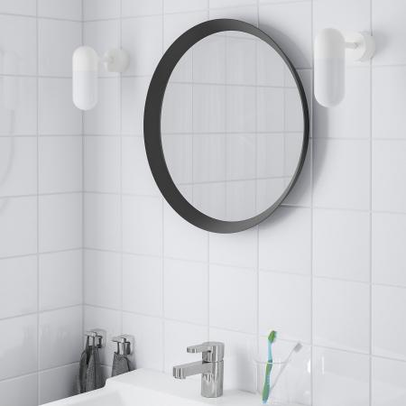 Oglindă, gri închis [0]