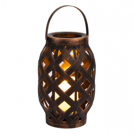 Lampă decorativă,culoarea bronzului,plastic,LED,suspendată 23 cm0