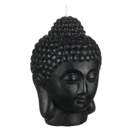 Lumânare decorativă 3D față,Buddha 14x18 cm1