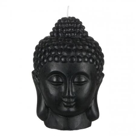 Lumânare decorativă 3D față,Buddha 14x18 cm0
