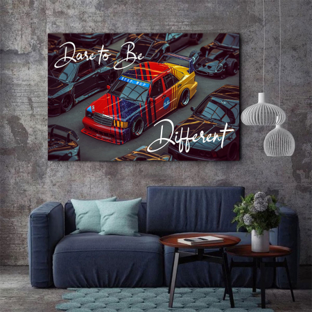 Tablou Canvas - Dare to be different1