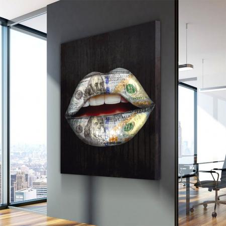 Tablou Canvas - Money wispears2