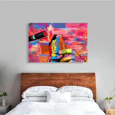 Tablou Canvas - Burn it3